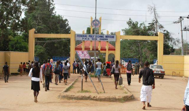 Nekede Poly Supplementary ND Admission List For 2018/2019 Session