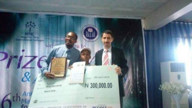Nine-year-old Wins National Mathematics Competition