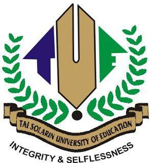 Tai Solarin University of Education (TASUED) Post UTME/Direct Entry (DE) Screening Results