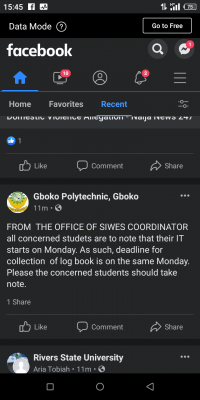 Gboko Polytechnic notice to SIWES students