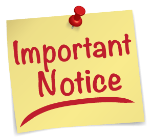 KWCOEILORIN notice on exam clearance form