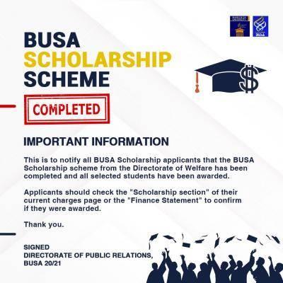 Babcock University Students' Association awards scholarships to selected students