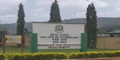 OSCOTECH, Esaoke Daily Part-time Admission (ND/HND), 2018/2019 Announced