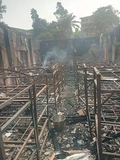 Sad! Student Dies as Fire Razes School Dormitory in Anambra