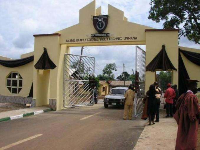 Akanu Ibiam Federal Polytechnic ND (Part-time) Admission, 2019/2020 Announced