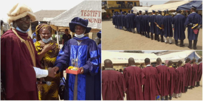 76 Ogun inmates bag NCE certificates from Yewa central college of education