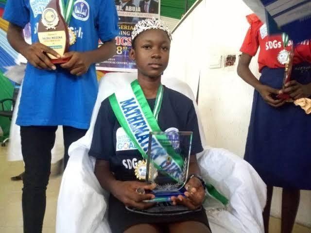 Tochukwu Ndukwe Wins SDGs Mathematics Competition