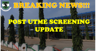 UNN notice to candidates ahead of 2020 Post-UTME screening exercise