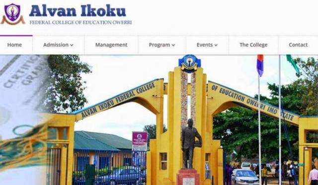 Alvan Ikoku Post-UTME 2018 (Degree/NCE): Cut-off marks, Eligibility And Registration Details