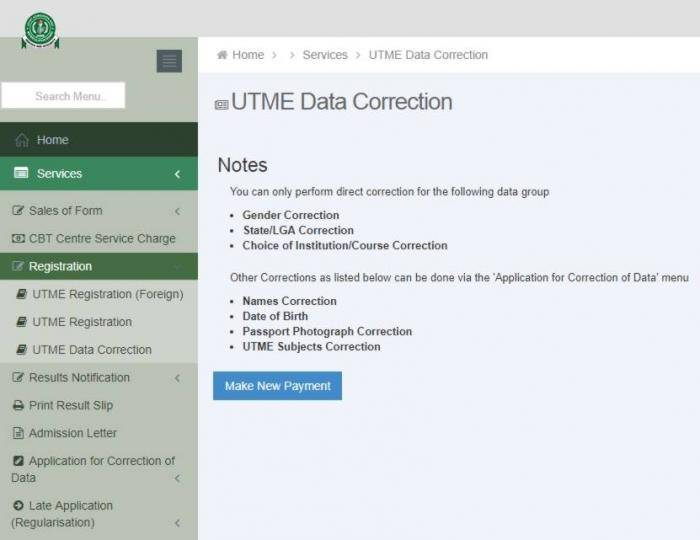 JAMB 2019 Change Of Course, Institution And Data Correction Process jamb 2019 change of course, institution and data correction process (check details) JAMB 2019 Change Of Course, Institution And Data Correction Process (Check Details) mTlmZJnpphwfxBbJrAzjPfyw1CsnHLTuAEvwNu63