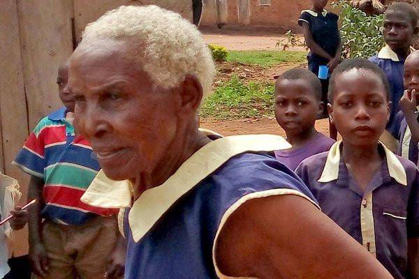 Meet 80-year-old Ugandan Primary One Student Who Aims to Become a Teacher