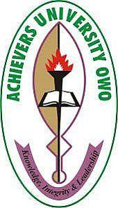 Achievers University Owo (AUO) JUPEB Form for 2019/2020 Academic Session