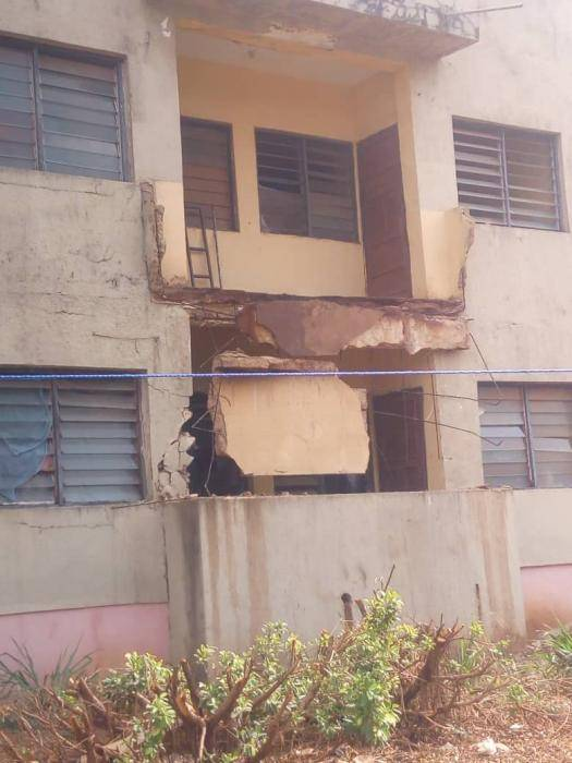 IMT Female Hostel Balcony Collapses, Leaves Students  in Critical Condition