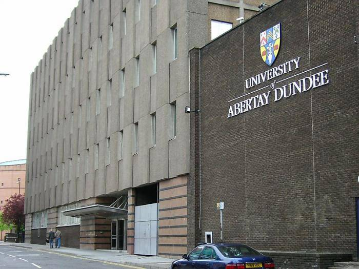 Abertay University International Scholarships, 2019.
