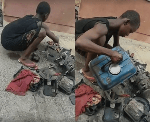 See 11-year-old Girl Who Repairs and Services Generators for a Living