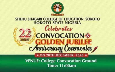 Shehu Shagari COE announces convocation and anniversary ceremonies