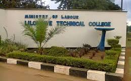 Lilongwe Technical College Selection List