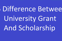 Difference Between Scholarships and Grants