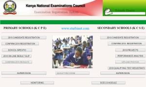 KCPE Registration Portal 2020
