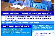 Lake Malawi University Application Form