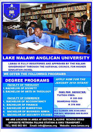 Lake Malawi University Application Form