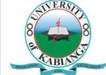 University of Kabianga Admission List