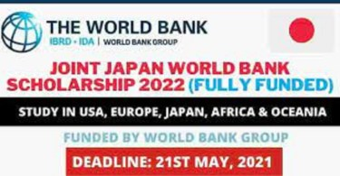 World Bank Scholarship 2021/2022 See Fully Funded Scholarship List