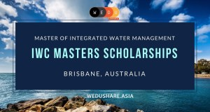 AU$52,500 Integrated Water Centre Scholarships For International Students – Australia