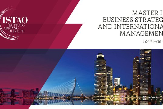 Business Strategy & International Management Scholarships At ISTAO - Italy