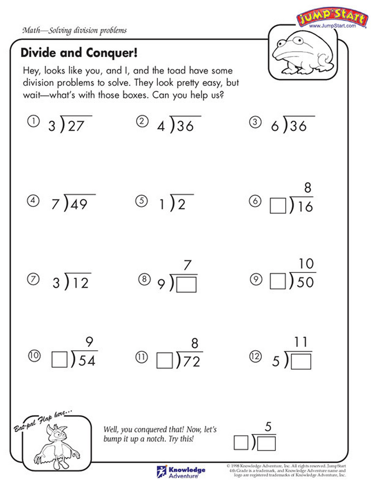hight resolution of 4th Grade Math Facts and Printable Worksheets - 2018