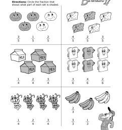 Fun With Fractions Practice Worksheet [ 3300 x 2550 Pixel ]
