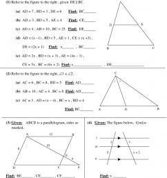 High School Geometry Worksheets – Printable [ 1024 x 791 Pixel ]