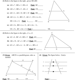 High School Geometry Worksheets [ 1650 x 1275 Pixel ]