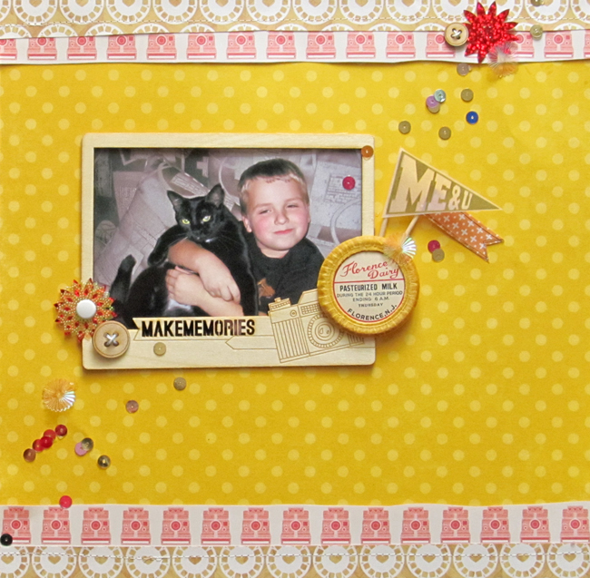 Budget Scrapbooking: Fit the Frame