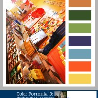 Color Formula 13: Back to the Classroom- Color Palette