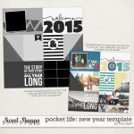 Pocket Life 2015 free tempate by Traci Reed Designs