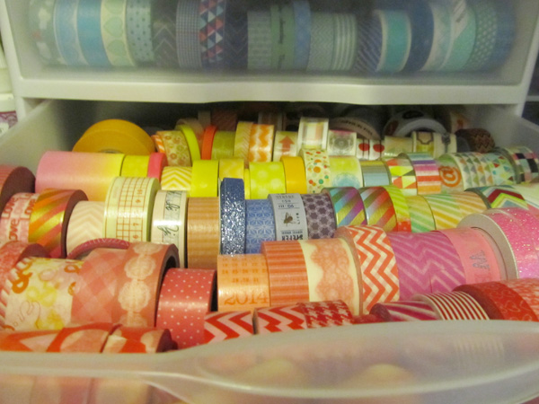 Around the Lab: Washi Tape Storage