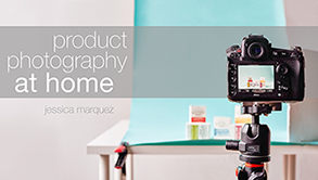 Product Photography at home from Craftsy