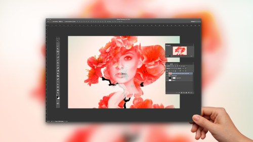 From Shoot Through Photo Editing: Creating a Double Exposure in Photoshop