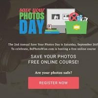 Save Your Photos Day Free Online Course