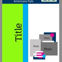 Lab Exercise 32: Tips for Creating a Three Photo Scrapbook  Layout with an  Americana Style- Scrapbook Sketch