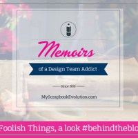 These Foolish Things, a look #behindtheblogger
