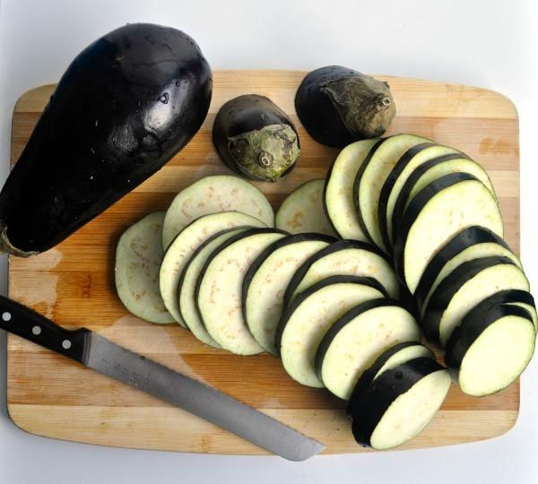 Resultado de imagen de eggplant slices