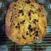 When Irish Bread is Rising: Irish Soda Bread with Dried Fruit