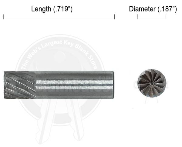 16CT End Mill Cutter.