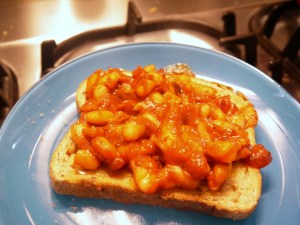baked beans on toast msf