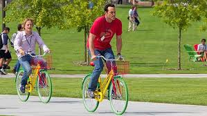 the internship bicycle google