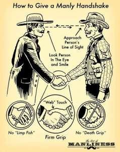 art manliness handshake