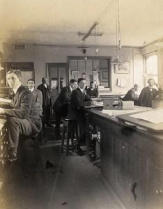 standing desk 19th century