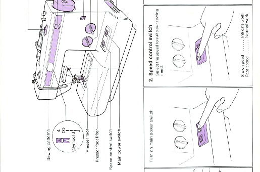 Brother 765 Sewing Machine Instruction Manual for Download